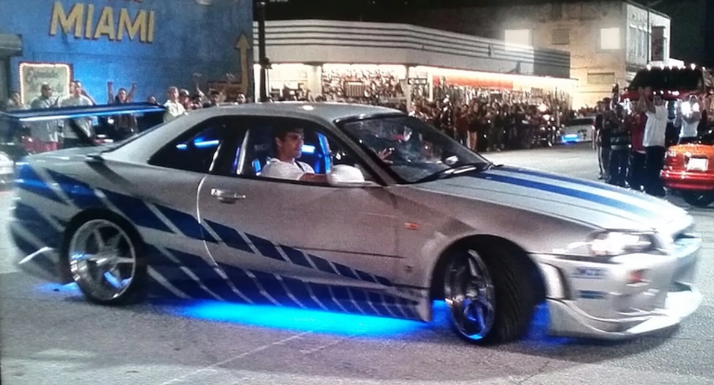 ワイルドスピードX2は日本車のスポーツカーがたくさん出てきて名シーンに登場する
